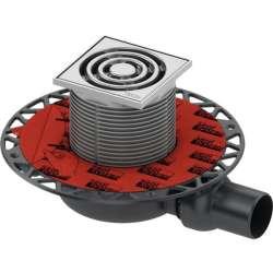TECE drainpoint S 110 точков сифон за баня със суха клапа