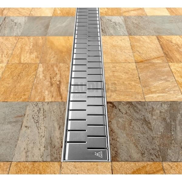 MCH Medium линеен сифон 75 см с метална рамка CH 750/50 MN
