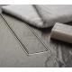 MCH Tile линеен сифон 75 см с метална рамка за плочка 5 CH 750/50 KN_pl