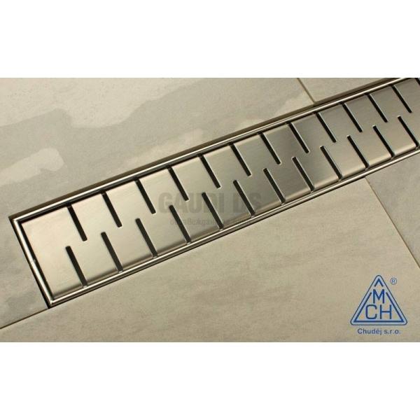 MCH Medium линеен сифон 65 см с метална рамка CH 650/50 MN