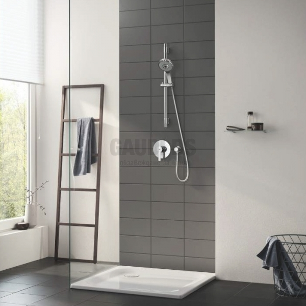 Grohe Lineare смесител вграждане за душ/биде, хром 24063001