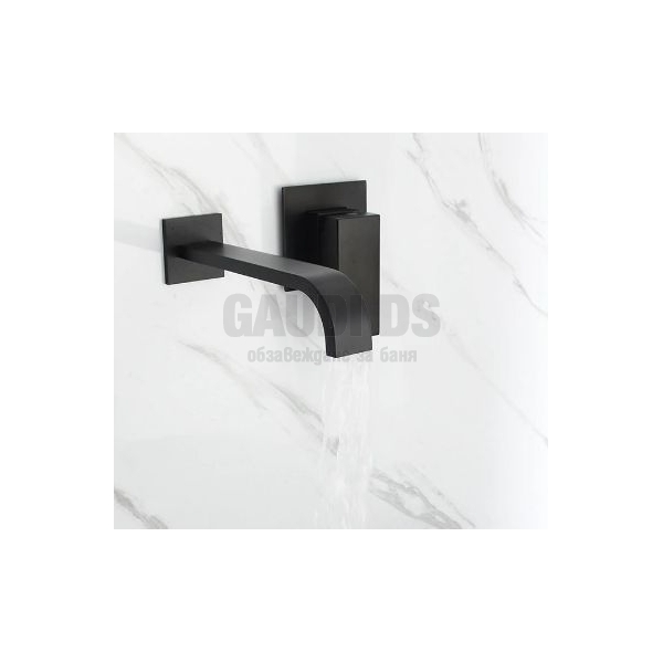 Вграден смесител за мивкa Blandini Picaso Black, черен мат BL491.185