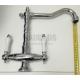 Висок ретро смесител за мивка Blandini Tres 2R 3 BL_17895.32