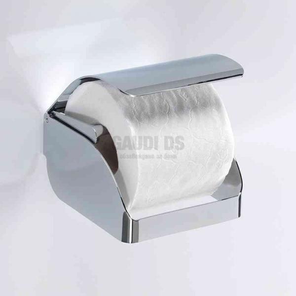 Gedy държач за тоалетна хартия с капак 2525 13