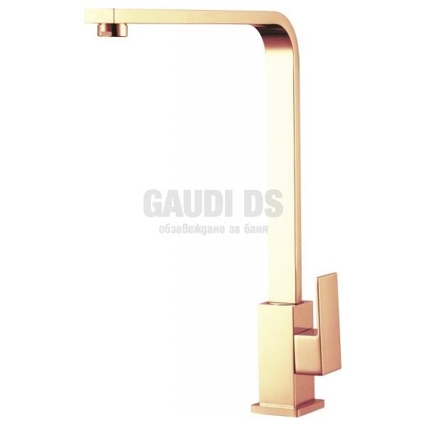 Висок смесител Sahara за кухня, цвят злато ICF 7107018G