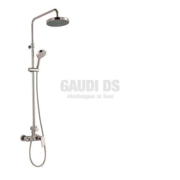Fayans Aves - душ колона за вана/душ, хром H3605300040001