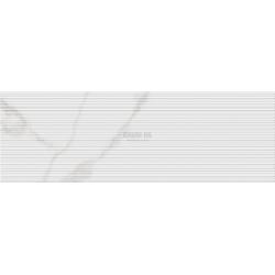 Cifre Fine Bianco Carrara Brillo rect 33.3x100
