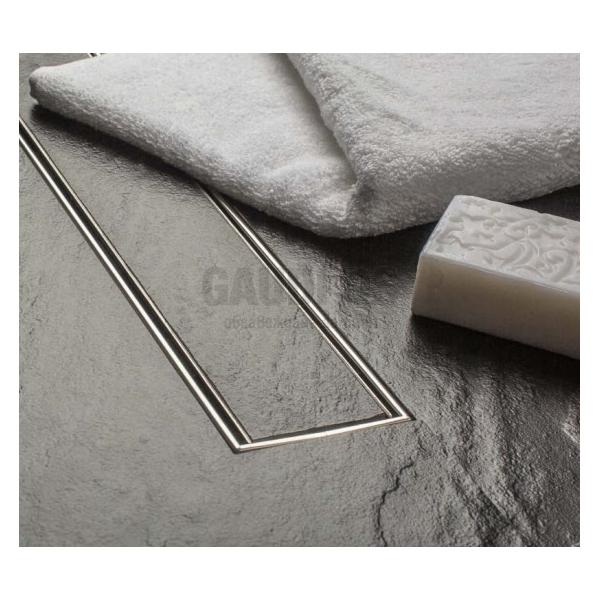 MCH Tile линеен сифон за плочка 45 см, Ф 40 CH 450 K_pl
