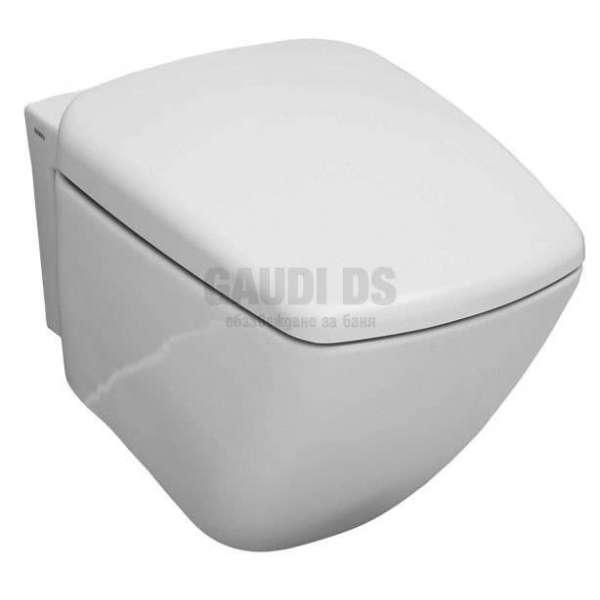 Конзолна тоалетна чиния Serel Renata с плавно падаща дъска