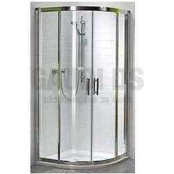 Овална душ кабина KOLO Geo 6 90x90