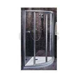 Овална душ кабина KOLO Akord Swing 90x90