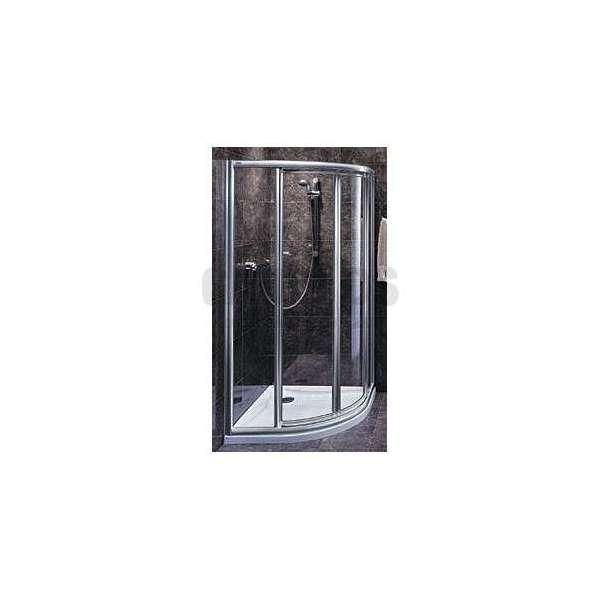 Овална душ кабина KOLO Akord Swing 80x80 RKPF80222005