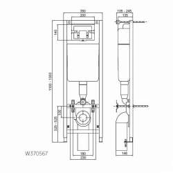 Структура за вграждане Ideal Standard 2