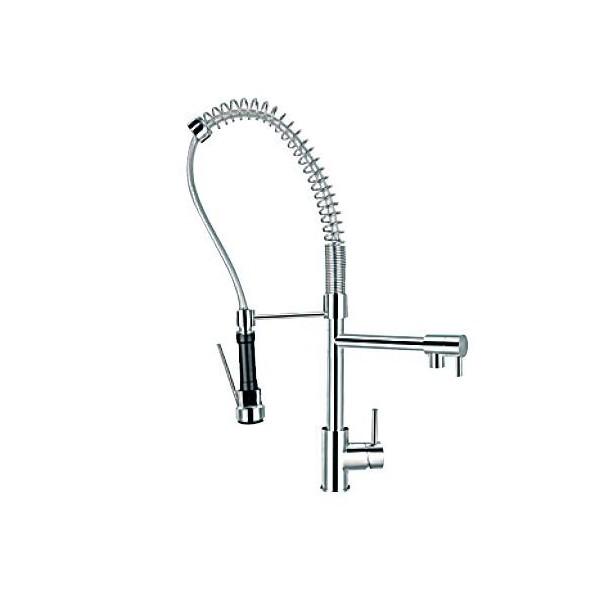 Bergsee Джуно смесител за кухня с подвижен душ