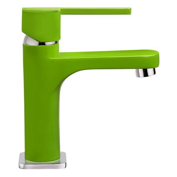 TEKA AURA COLORS зелен смесител за мивка