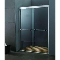 Стъклен с две плъзгащи врати на 120см MY-4000В-120