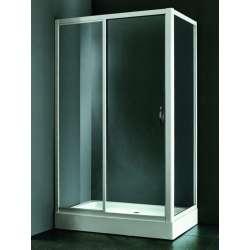 Правоъгълна душ кабина 120х80 - прозрачно стъкло Душ кабина MY-4020