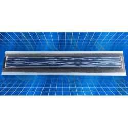 Стъклен лентов сифон Inox Style с хидроизолационен фланец хидро стъклен