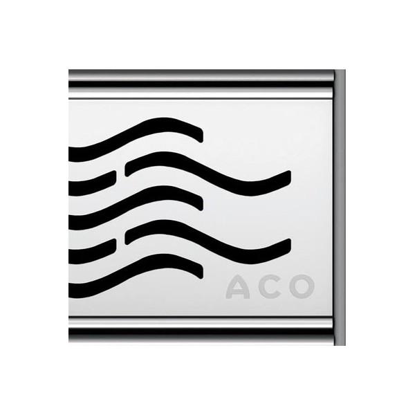 Лентов сифон ACO ShowerDrain C - Water от 585 до 1185 мм