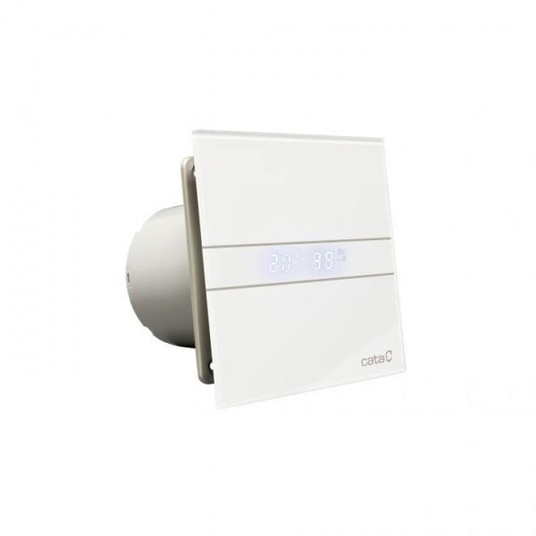 CATA E 100 GTH бял вентилатор за баня с датчик влага и таймер E 100 GTH