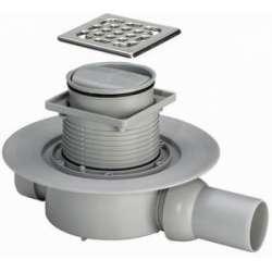 Рогов сифон за баня Viega Advantix със суха клапа (пластмасова рамка)