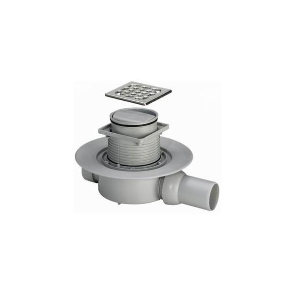 Рогов сифон за баня Viega Advantix със суха клапа (пластмасова рамка) 583217