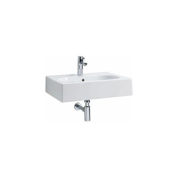 Правоъгълна мивка KOLO Twins 50x46 с овално корито L51151