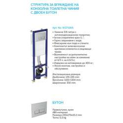 Промо WC комплект Ideal Standard Connect Aquablade 2