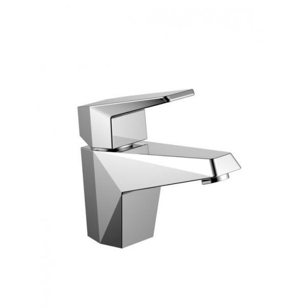 Смесител за мивка с ръбести форми Anje със сифон