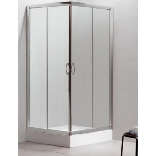 Квадратна душ кабина 80х80 прозрачно стъкло