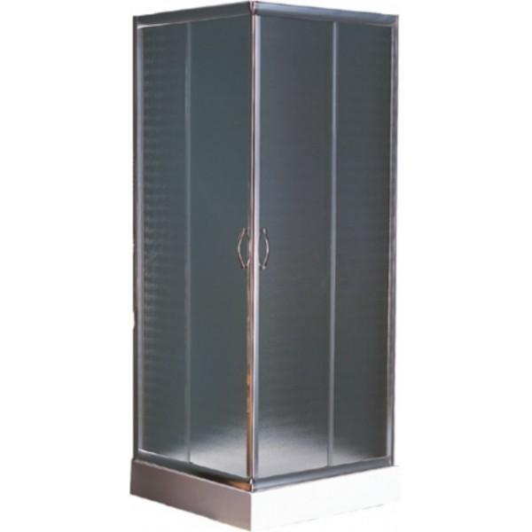 Квадратна душ кабина 80х80 матирано стъкло