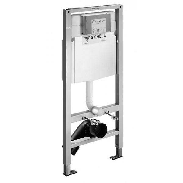 Schell структура за вграждане за WC
