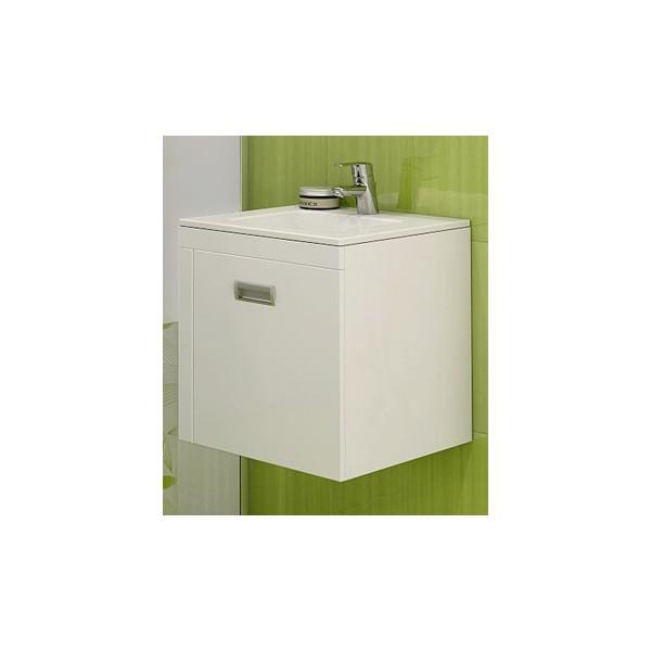 Долен с мивка Елвира - компактен и конзолен 45см