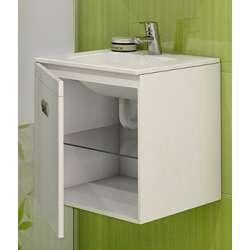 Долен с мивка Елвира - компактен и конзолен 45см 2