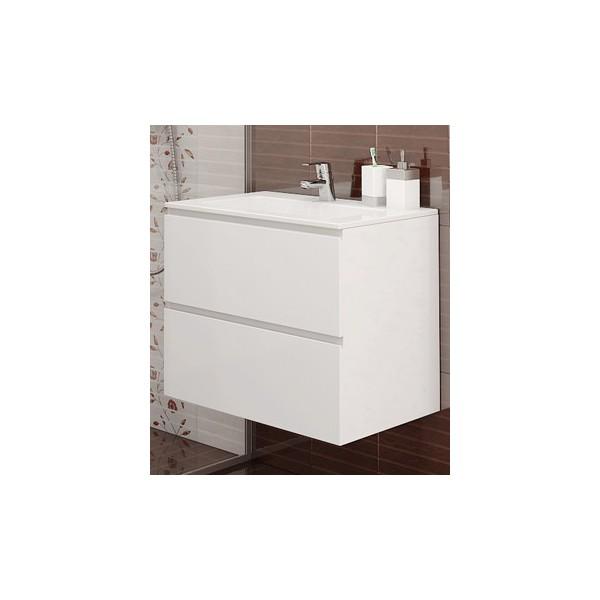Долен с мивка Линеа - конзолен 65см
