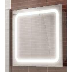 Огледало Линеа с осветление на 65см triano_linea_goren