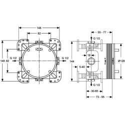 Ideal Standard EASY-BOX универсална вградена част 2