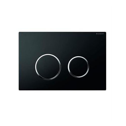 Geberit Sigma 20 черен/хром лъскав/черен активатор за WC
