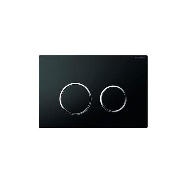 Geberit Sigma 20 черен/хром лъскав/черен активатор за WC 115.778.KM.1