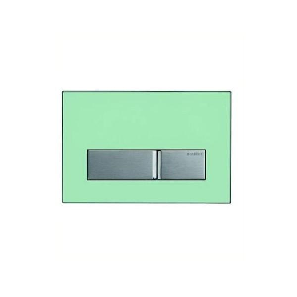 Geberit Sigma 50 зелено стъкло активатор за WC 115.788.SE.5