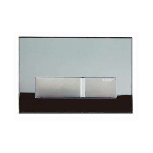 Geberit Sigma 50 опушено стъкло активатор за WC