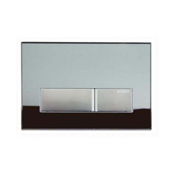Geberit Sigma 50 опушено стъкло активатор за WC 115.788.SD.5