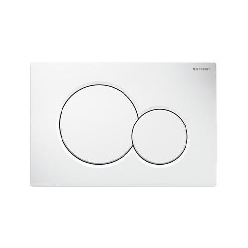 Geberit Sigma 01 бял активатор за WC