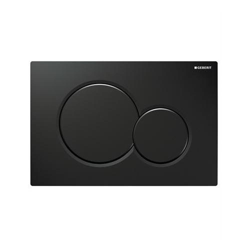 Geberit Sigma 01 черен гланц активатор за WC