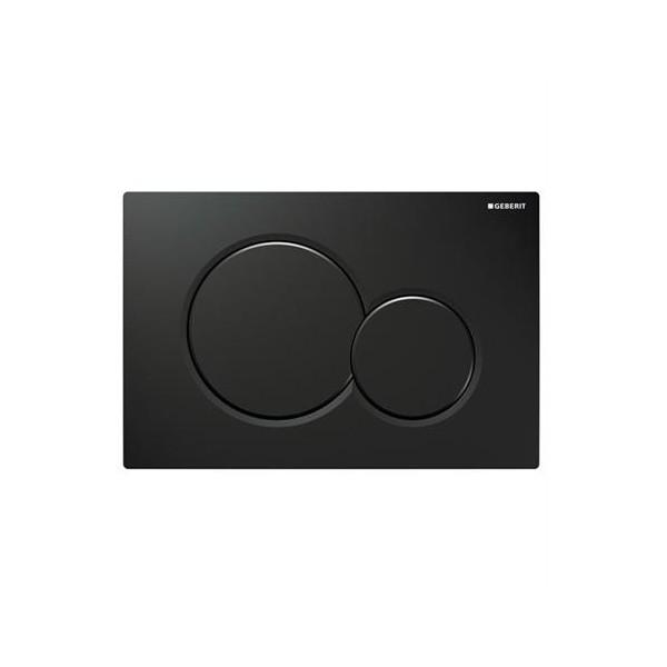 Geberit Sigma 01 черен активатор за WC