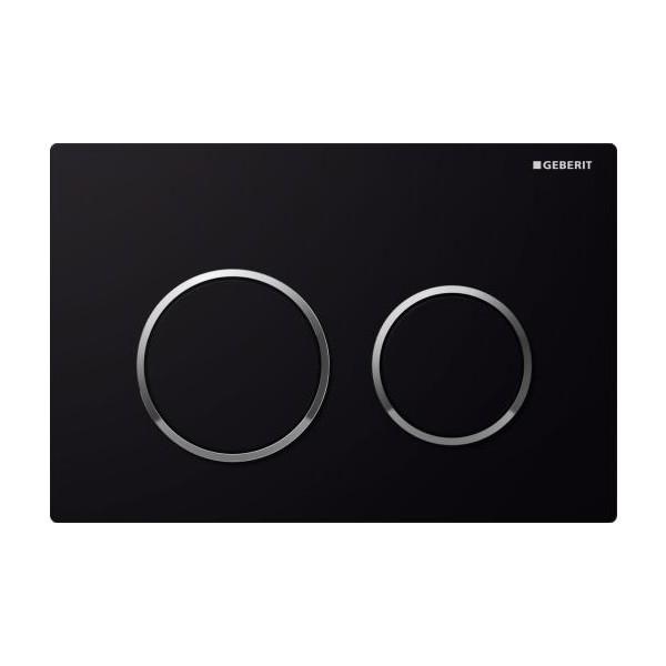 Geberit Omega 20 черен активатор за WC 115.085.KM.1