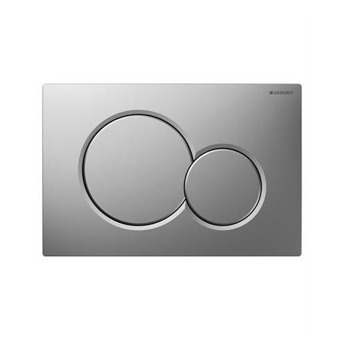 Geberit Sigma 01 хром мат активатор за WC