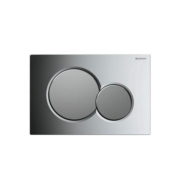 Geberit Sigma 01 хром лъскав/мат активатор за WC 115.770.KA.5