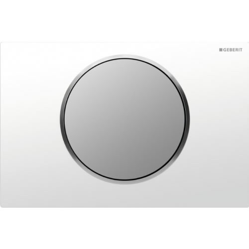 Geberit Sigma 10 бял/хром мат активатор за WC