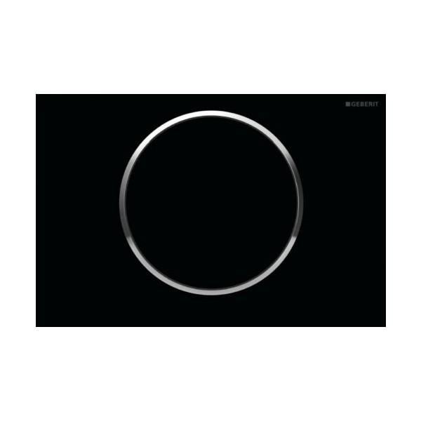Geberit Sigma 10 черен/хром лъскав/черен активатор за WC